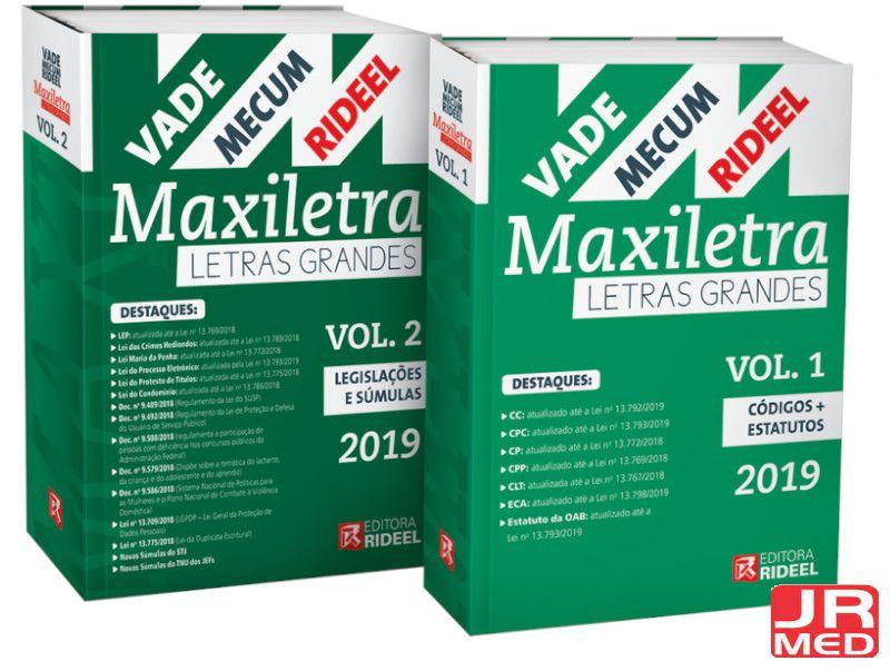 Vade Mecum Maxletra 02 Volumes 2019 Rideel
