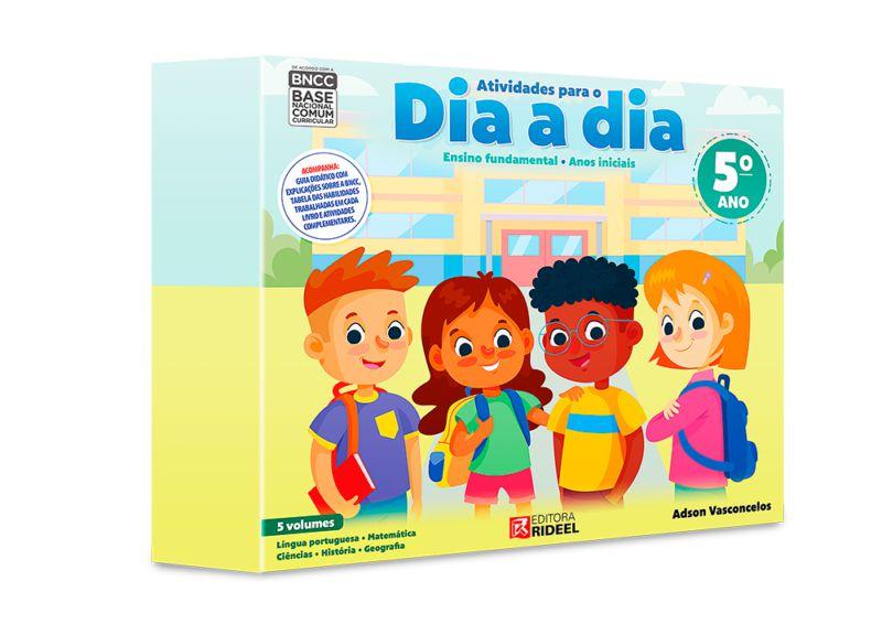 Coleção Atividades Para O Dia A Dia 5° Ano - Editora Rideel