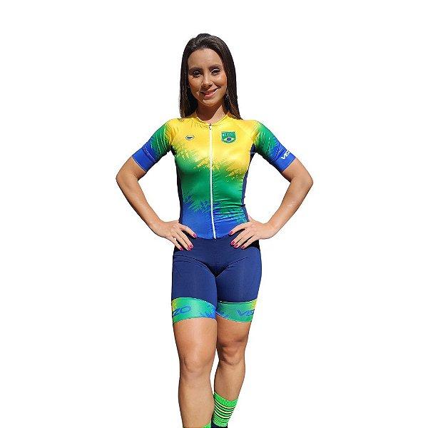 Macaquinho Ciclismo Classic Vezzo Brasil