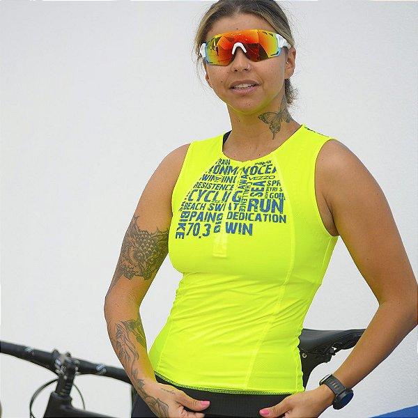Top Triathlon Feminino Vezzo AWA