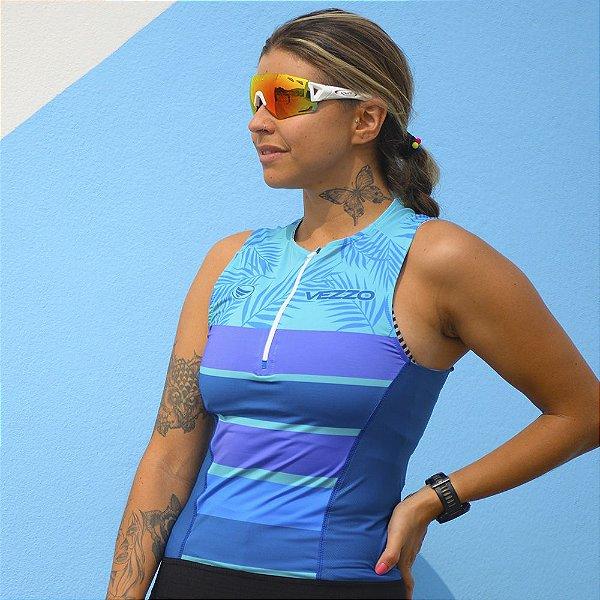 Top Triathlon Feminino Vezzo Kailua