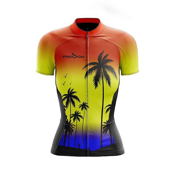 Camisa Ciclismo Feminina Freedom Summer