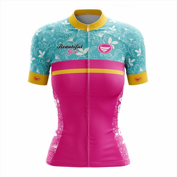 Camisa Ciclotour Feminina Vezzo Beautiful ride