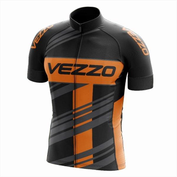 Camisa Masculina Ciclismo e MTB Vezzo Prime Black