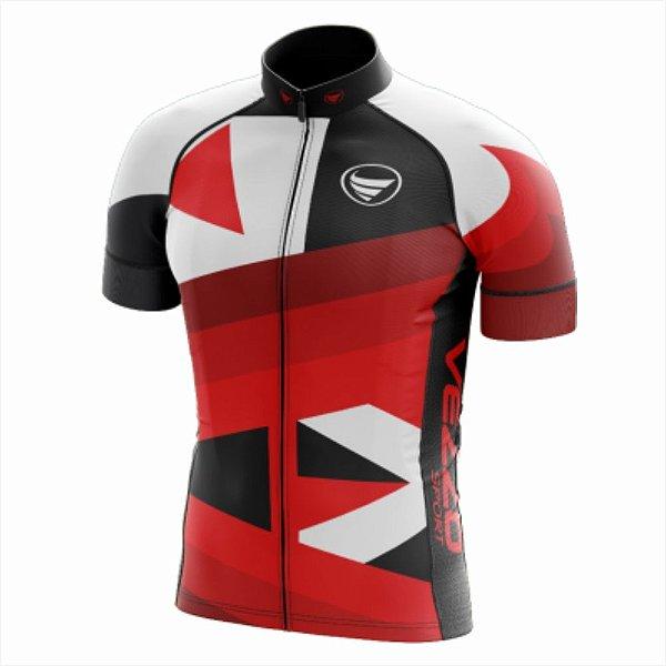 Camisa Masculina Ciclismo e MTB Vezzo Rebel Red