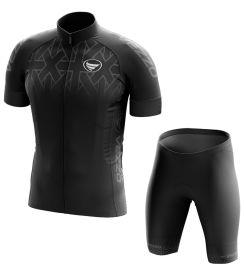 Conjunto Masculino Ciclismo e MTB Vezzo Concept Black