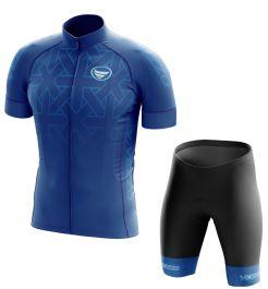 Conjunto Masculino Ciclismo e MTB Vezzo Concept Blue