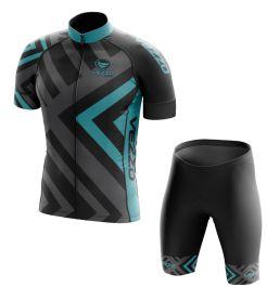 Conjunto Masculino Ciclismo e MTB Vezzo Diamond Sea