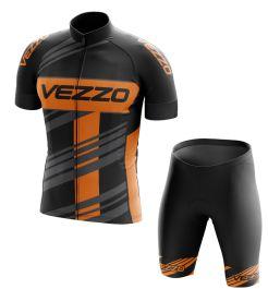 Conjunto Masculino Ciclismo e MTB Vezzo Prime Black