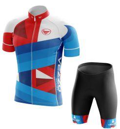Conjunto Masculino Ciclismo e MTB Vezzo Rebel Blue