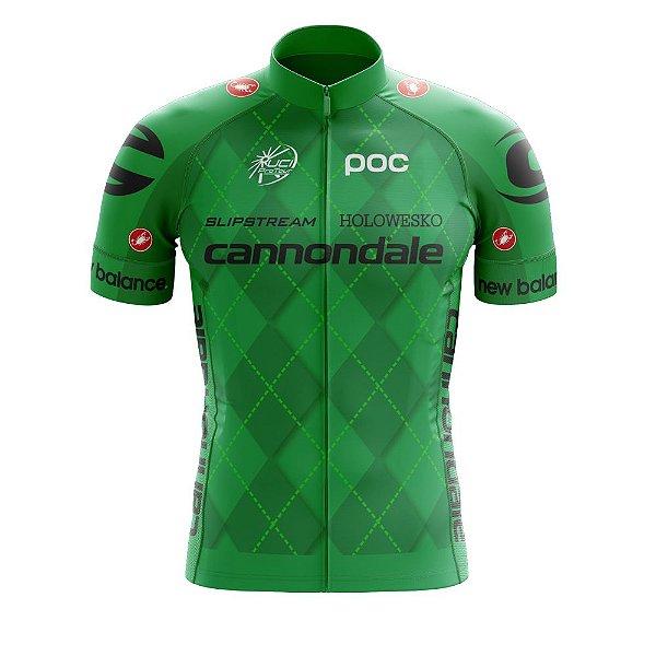 Camisa Ciclismo Mtb Bike Cannondale Verde World Tour