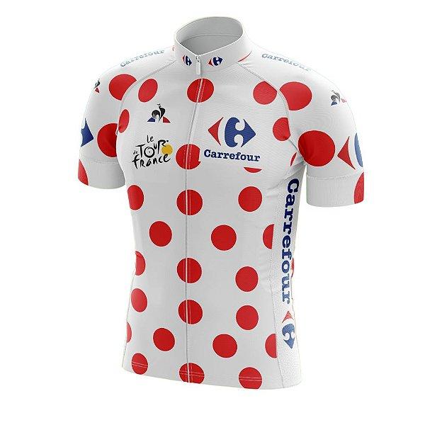 Camisa Ciclismo Tour de France Bolinhas - Montanha