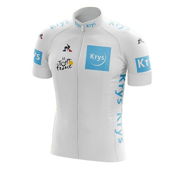 Camisa Ciclismo Tour de France Branca - Young