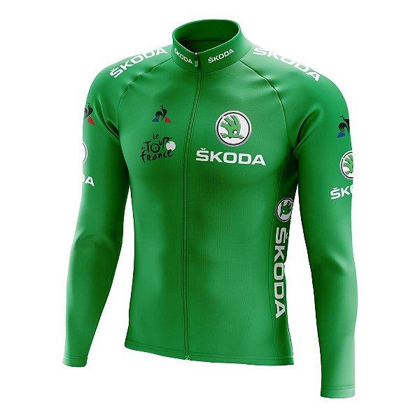 Camisa Manga Longa Ciclismo Tour de France Verde - Sprint