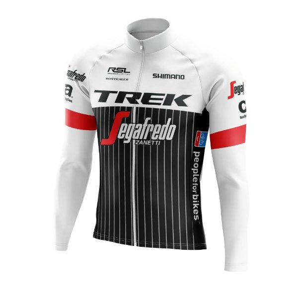 Camisa Manga Longa Ciclismo MTB TREK World Tour