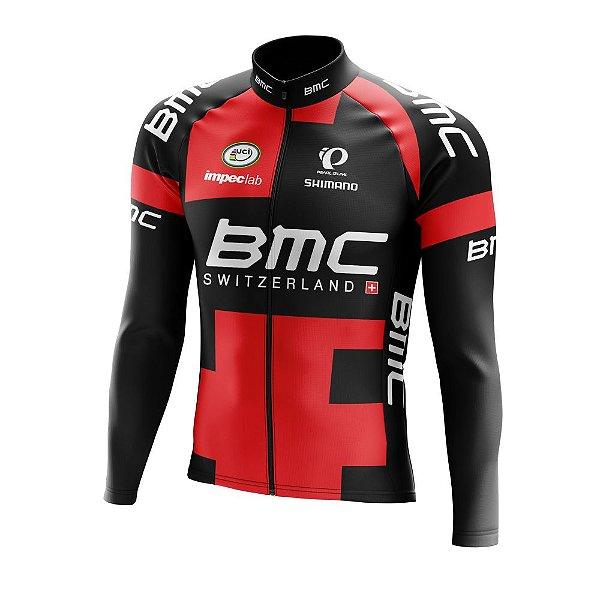 Camisa Manga Longa Ciclismo Mtb - BMC World Tour