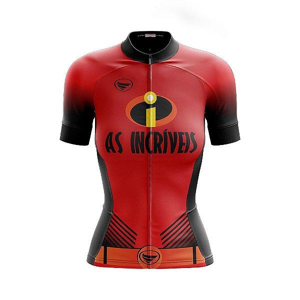Camisa Feminina Ciclismo e MTB Vezzo As Incríveis