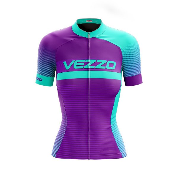 Camisa Feminina Ciclismo e MTB Vezzo Pro Ride
