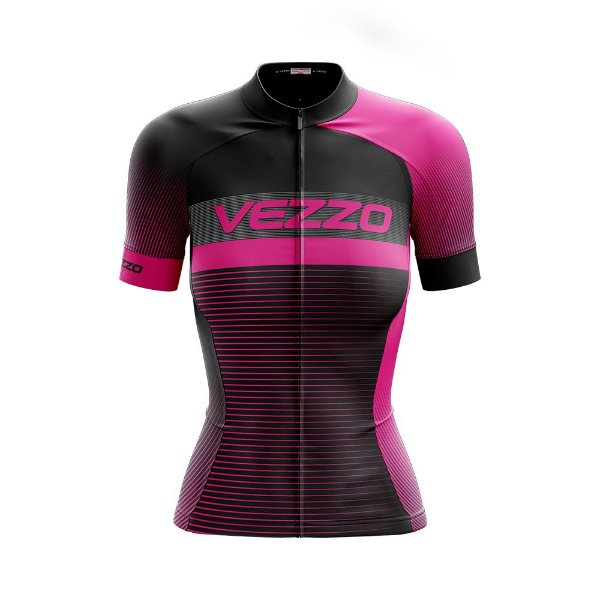 Camisa ciclotour Feminina Vezzo Pro Bike