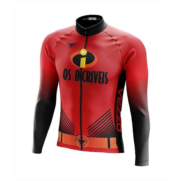 Camisa Ciclismo Manga Longa Vezzo Os Incríveis