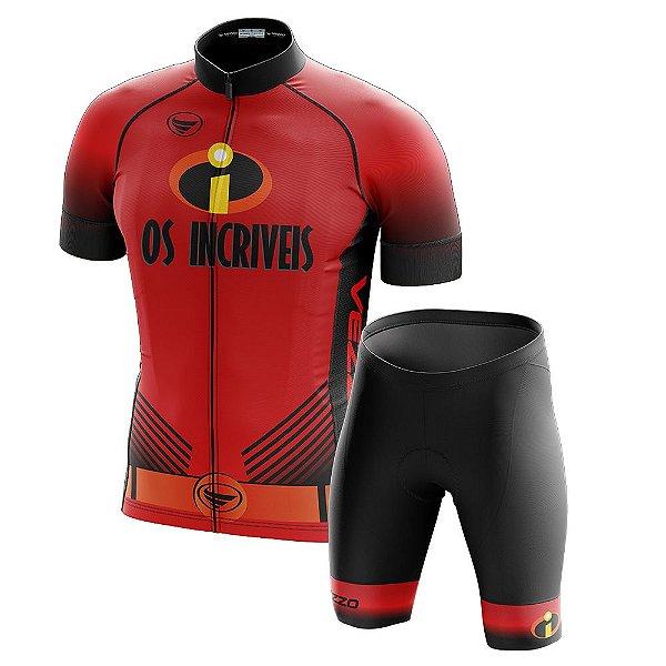 Conjunto Masculino Ciclismo Vezzo Os Incríveis