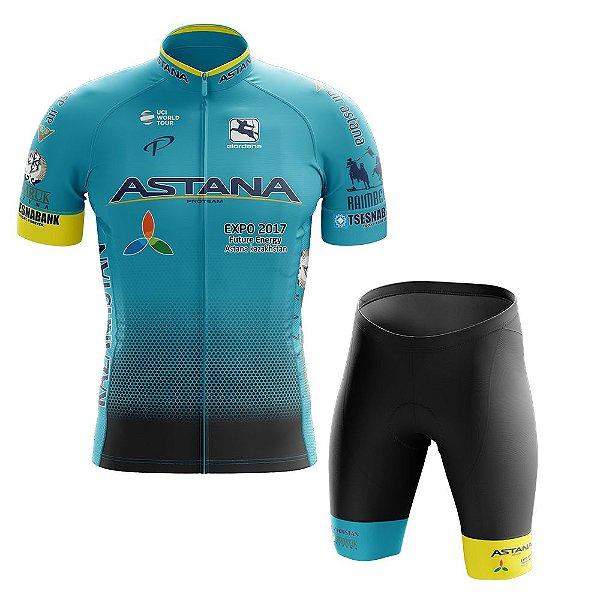 Conjunto Masculino Astana