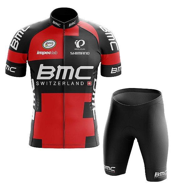 Conjunto Masculino World Tour BMC