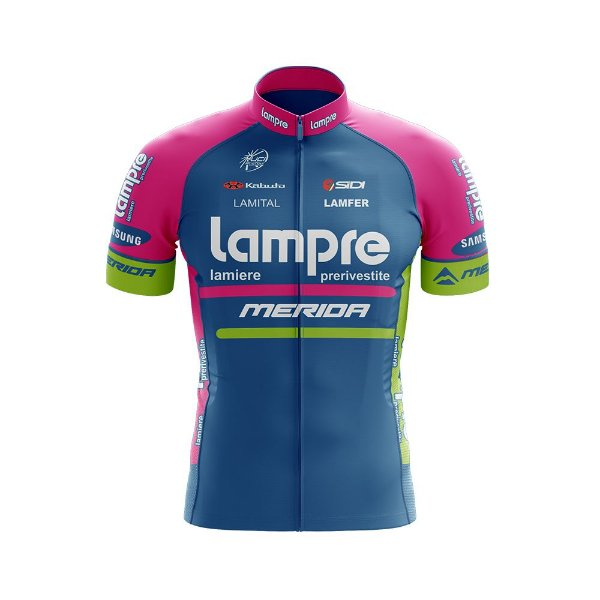 Camisa Ciclismo MTB World Tour Lampre