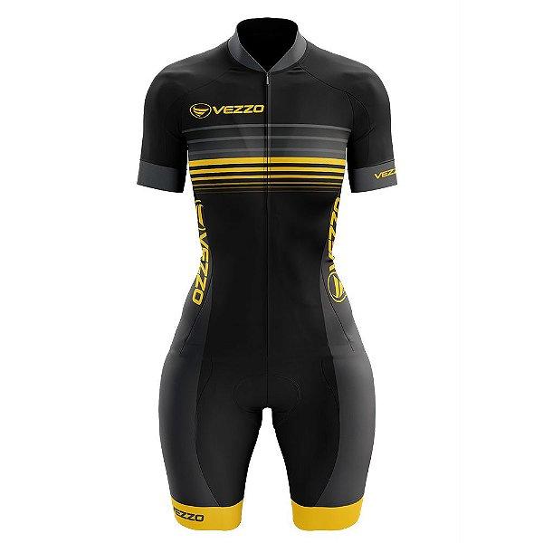Macaquinho Feminino Ciclismo -  Vezzo Pressure