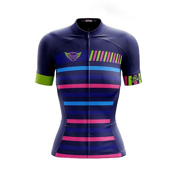 Camisa Feminina Ciclismo Verão 2019 - Beauty Frame