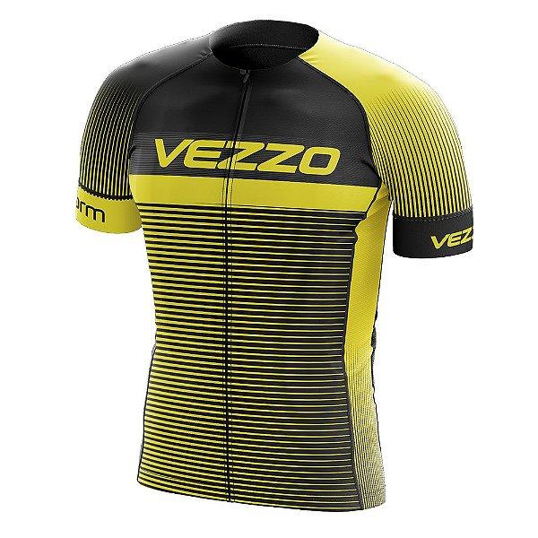 Camisa Masculina VEZZO STORM - Pro Cycle Amarela