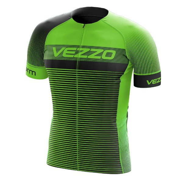 Camisa Masculina VEZZO STORM - Pro Cycle Verde
