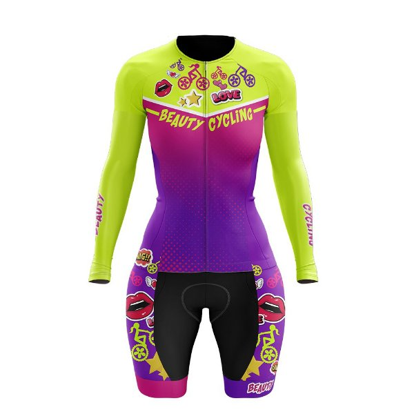 Macaquinho Feminino Ciclismo Beauty Magic