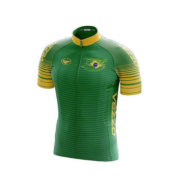 Camisa Masculina Vezzo Brasil Verde