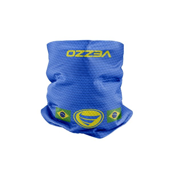 Bandana Multihead Vezzo Brasil Azul