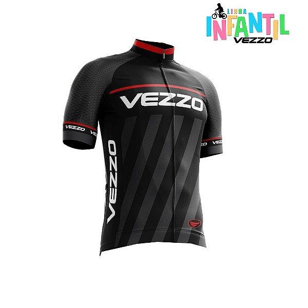 Camisa Infantil Menino Vezzo Storm Thunder Black