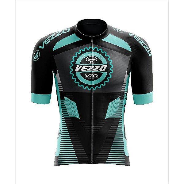 Camisa Race Aero - Vezzo Performance Aqua