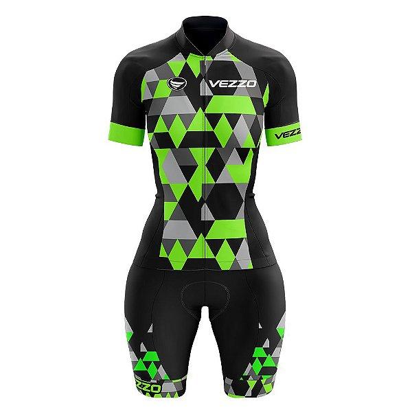 Macaquinho Ciclismo MTB Vezzo Adamant Green