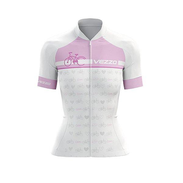 Camisa Ciclotour Feminina Vezzo Motivation