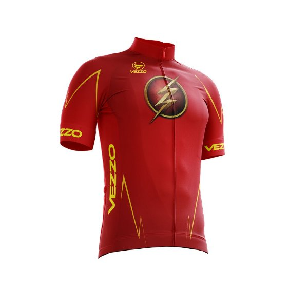 Camisa Ciclotour Infantil Menino Vezzo Flash