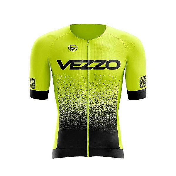 Camisa SPEED Unissex Vezzo FORZA - Amarelo flúor