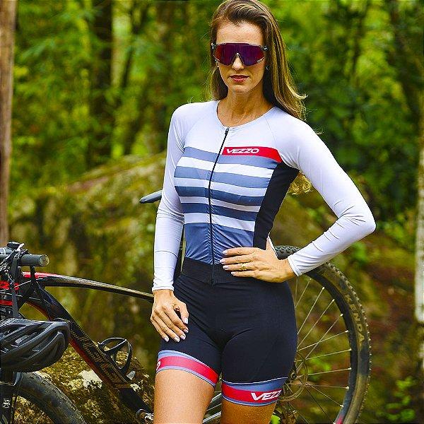 Macaquinho Ciclismo Carbon - CLEAR