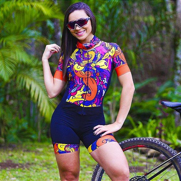 Macaquinho Ciclismo Carbon - PRINT