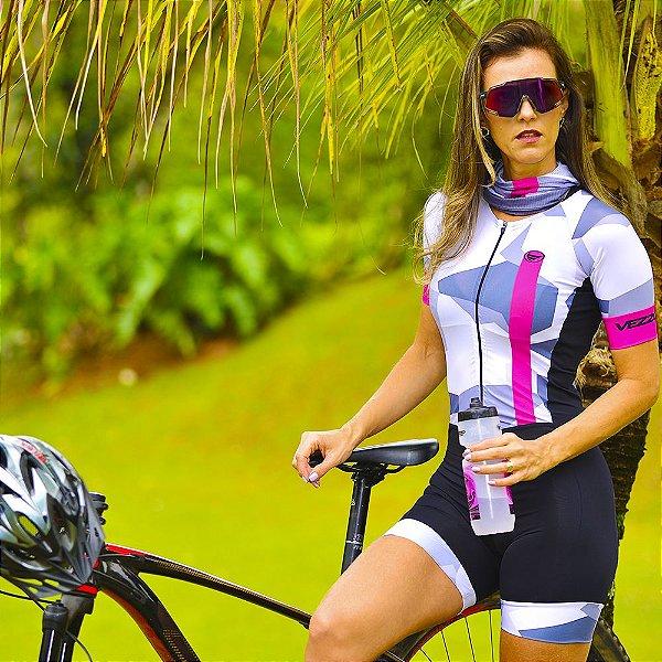 Macaquinho Ciclismo Carbon - SECRET ROSA