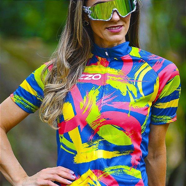 Camisa Ciclotour Feminina Vezzo DA VINCI