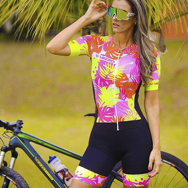 Macaquinho Ciclismo Carbon - FLOW