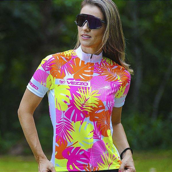 Camisa Ciclotour Feminina Vezzo FLOW