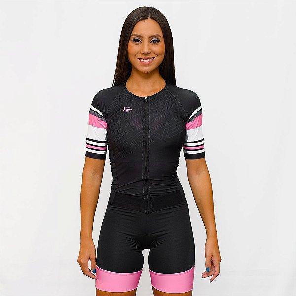 Macaquinho Vezzo Ciclismo Carbon Diva