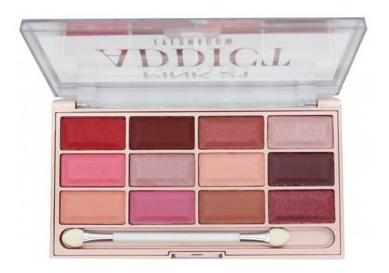 Paleta De Sombras Addict Pink 21 COR1