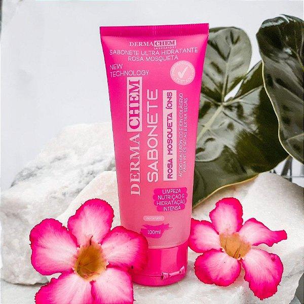 Sabonete Rosa Mosqueta Ultra Hidratante Derma Chem 100ml